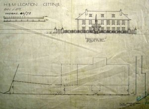 Proposed elevation , 1912.