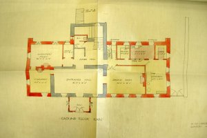Ground floor plan, 1912.