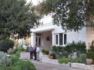 Residence entrance, 2008.