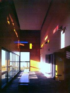 The atrium, 2007.