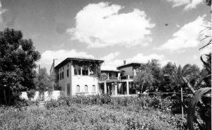 Garden front, 1959.