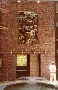 Tapestry: Cornish Garden, 1985.