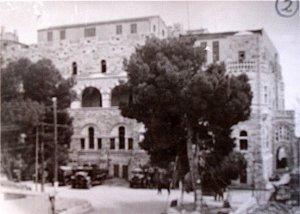 St. Paul's Hospice building, c.1950.