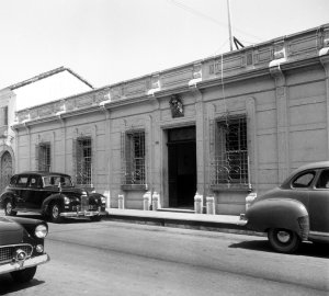 Legation offices street front, 1956.