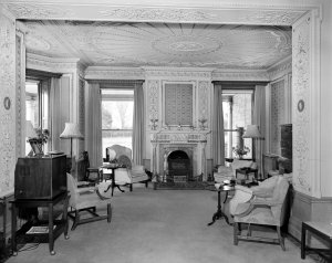 Sitting room, 1959.
