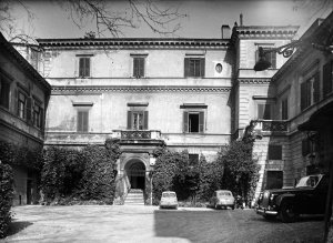 Palazzo Orsini, 1961.
