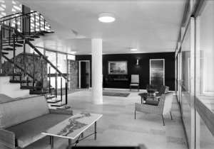 Entrance hall, 1962.