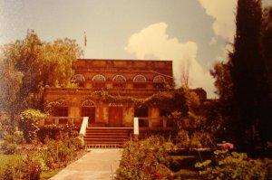 Residence, garden front, 1984.