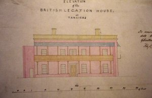 Elevation of consular house, 1863.