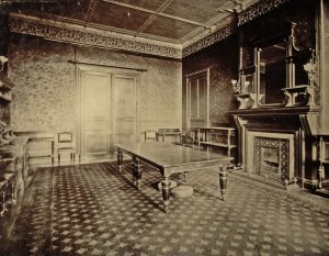 Dining room, ?1900s.
