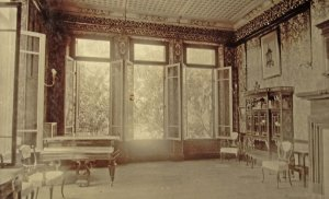 Drawing room, ?1900s.