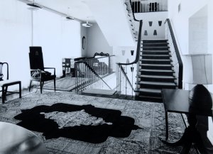Residence main landing, 1972.