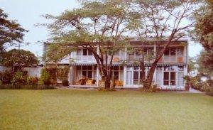 Garden front of residence, 1991.